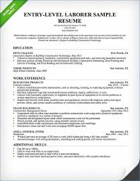 Construction Worker Resume Stunning 3622 Construction Worker Objective For Resume Igniteresumes
