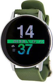 Купить <b>Умные часы Geozon Sky</b> Silver/Green по выгодной цене в ...