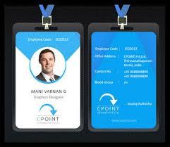 Identity Card Design Employee Id Card Idea Id Card Idea Badge Design Design Id Design