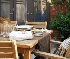 maintaining outdoor teak furniture