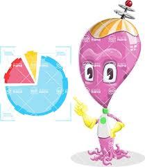 Alien Chart Alien Baby Vector Cartoon Character Aka Toby The Little Alien