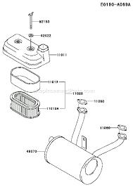 kawasaki fd590v parts diagram electrical work wiring diagram \u2022  kawasaki fd590v parts list and diagram as05 ereplacementparts com rh ereplacementparts com kawasaki engines fe290d as18