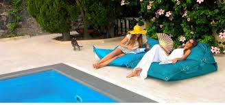 funky outdoor furniture fatboy bean bags