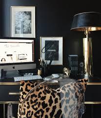 office leopard print. Decorating Inspiration: Getting Wild With Leopard Print Office P