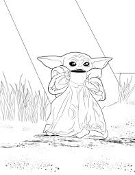 3120 x 2455 file type: Coloring Pages For You To Use R Babyyoda Baby Yoda Grogu Know Your Meme