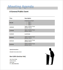 11 Conference Schedule Templates Word Pdf Free Premium Templates