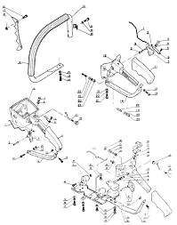 Echo cs 301 chain saw handle parts diagram serial number 001001 and up
