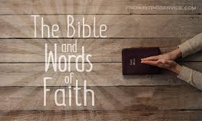 essay on faith the bible and words of faith com have you ever thought about faith do you really believe in something or someone is it a must thing to believe in something in this world one can an
