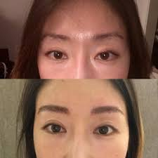 photo of sherri permanent makeup los angeles ca united states before brows