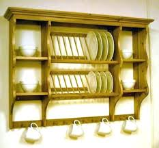 wall mounted plate rack wall mounted