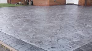 Patterned Concrete Cool Pattern Imprinted Concrete Driveways Wigan DHAD