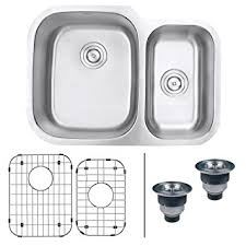 How To Clean Bathroom Sink Drain Awesome Ruvati RVM48 Undermount 48 Gauge 48 Kitchen Sink Double Bowl