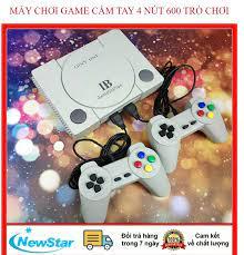 Máy chơi game 4 nút NES 600 trò -Doanh Số Bán Chạy Nhất Retro PS - Máy