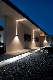 Led Outdoor Lighting Warm White Recessed Up And Down Light Point As Saved To Cube