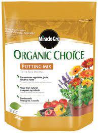 organic potting soil organic potting
