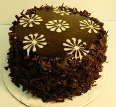 Decorated German Chocolate Cake Ladybird Bakery