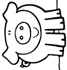 Kinderpleinen Varkens Zwijnen Kleurplaten