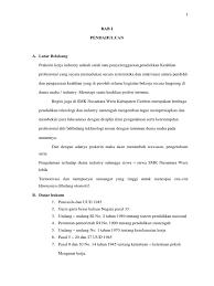 Find out 45+ facts about contoh makalah pkl smk dengan judul tentang odgj your friends did not let you in! Contoh Latar Belakang Laporan Pkl Smk Kesehatan Kumpulan Contoh Laporan