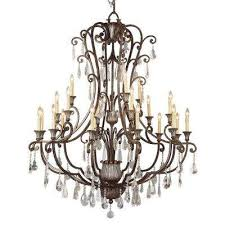 cabernet collection 21 light antique bronze chandelier