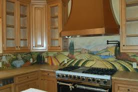 hand painted tiles kitchen backsplash review