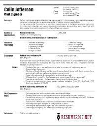 Great Sample Resume Civil Engineering Resume Example Davidkarlsson