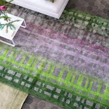 pink and green rug colonnade moss rugs features a unique blend of colours which create this