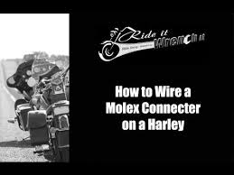17 best ideas about molex connector thermal grease this video will show the process of wiring a molex connector for a harley davidson motorcycle this will help when extending wiring harnesses on the