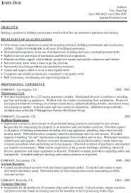 general maintenance resumes general maintenance resume mwb online co