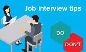 The Do S And Don Ts Of An Interview What Are Dos And Donts For Interviews Quora