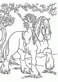 Small Picture Horse coloring pages for kids prinable free horse printables