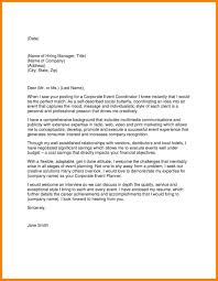Example Cover Letter For Mla Format Of Cover Letter With