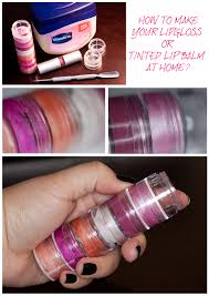 how to make your lipgloss or tinted lip balm at home futilitieore