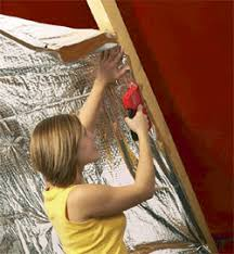 YBS SuperQuilt Multi-Foil for insulating Roofs, Walls, and Floors & Under rafter fitting of SuperQuilt Multi-foil Insulation Adamdwight.com