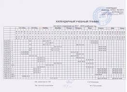 ГБПОУ РК Петрозаводский лесотехнический техникум Документы Календарный учебный график дневного отделения на 2017 2018 учебный