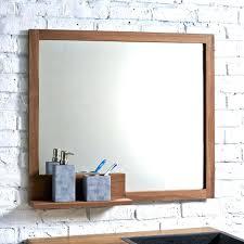 Badspiegel Mit Ablage Badezimmerspiegel Ohne Beleuchtung Besonders
