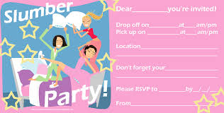 How To Make A Sleepover Invitation Cute Sleepover Invitations Under Fontanacountryinn Com
