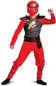 Disguise Lego Ninjago Kai Jumpsuit Classic Child Costume for Boys, Red &  Black, Kids Size Small (4-6): Amazon.de: Spielzeug
