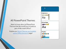 Parallax Theme In Powerpoint