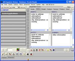 Address Database Software Free Solution Software Vendor Supplier Manager Simple Software