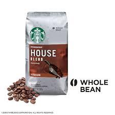 starbucks coffee bag. Contemporary Coffee Starbucks House Blend Medium Roast Coffee Whole Bean 12Ounce Bag   Walmartcom With Coffee B