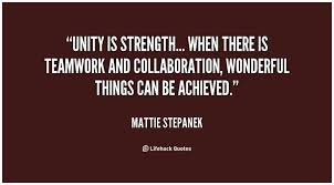 Unity Quotes Stunning Collaboration Teamwork Quotes 48 Best Unity Quotes On Pinterest