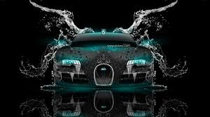 bugatti veyron back super water car