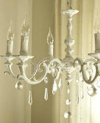 shabby chandelier painted chandeliers before and after shabby chic inspired before and after candle holder chandelier