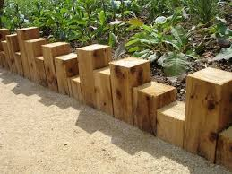 Small Picture Best 25 Wood edging ideas on Pinterest Sleepers garden Railway