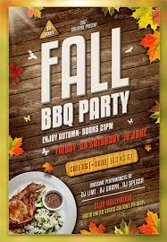 Barbecue Flyers 14 Bbq Party Flyers Psd Word Eps Vector Free