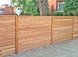 horizontal wood fence.  Fence Modern Horizontal Fence Wood  How To Build A   Intended Horizontal Wood Fence
