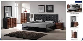 Modern Style Bedroom Furniture Modern Bedroom Sets Marquee Leather Platform Bed With Led Lights