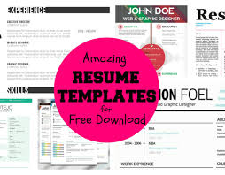 Attractive Resume Templates Free Download Resume Free Resume Builder Charismatic Free Resume Builder And 75