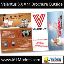 Valentus Flyers/brochures