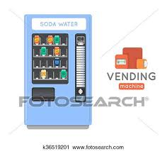 Vending Machine Card Payment Enchanting Clipart Of Vending Machine Vector Set Sell Snacks And Soda Drinks